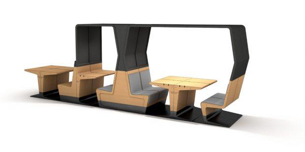 Proefmodel HUBB meubelserie